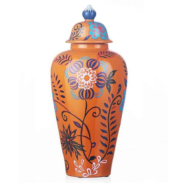 Vaso de Cerâmica - 22x47 cm
