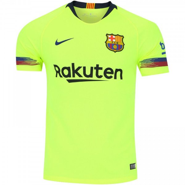 Camisa Barcelona II S Nº 18 19 Nike Torcedor - OUTLET SOCCER ... 802b821df5033