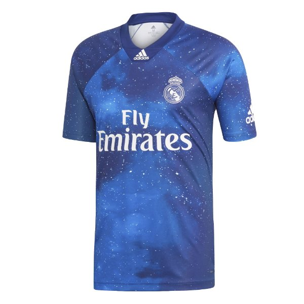 c17e1474f8 Camisa Real Madrid Azul EA SPORTS FIFA 19 S Nº Adidas Azul - OUTLET ...