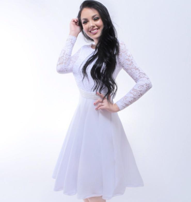 Vestido Midi Princesa