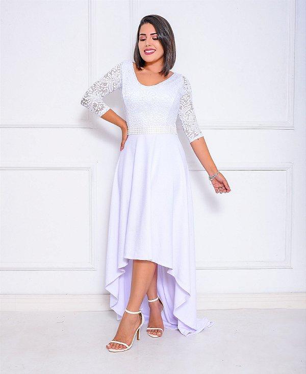 Vestido Marie Mullet Renda
