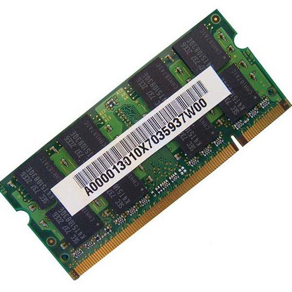 Pente de Memória de 1GB PC2-5300S Hynix para Notebooks