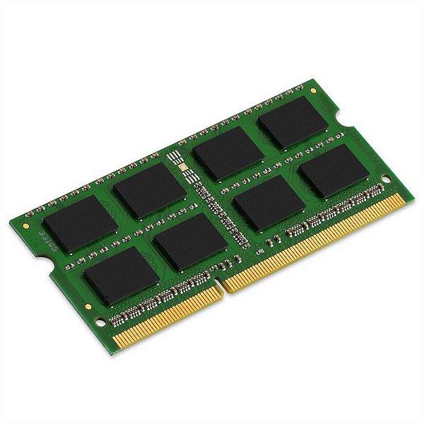 Memória para notebook 4GB DDR3, frequência 1333 Mhz