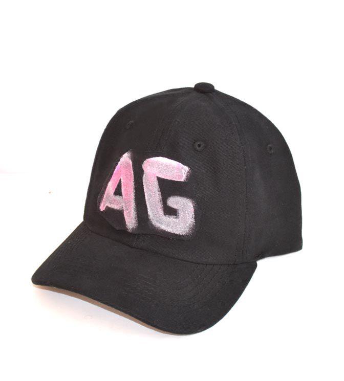 Boné Dad Hat preto logo em cores