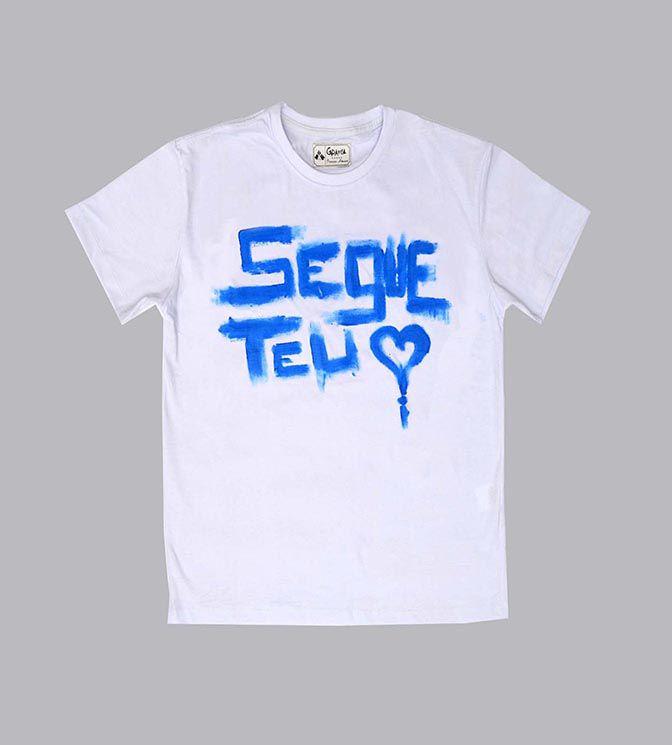 camiseta com frase motivacionais