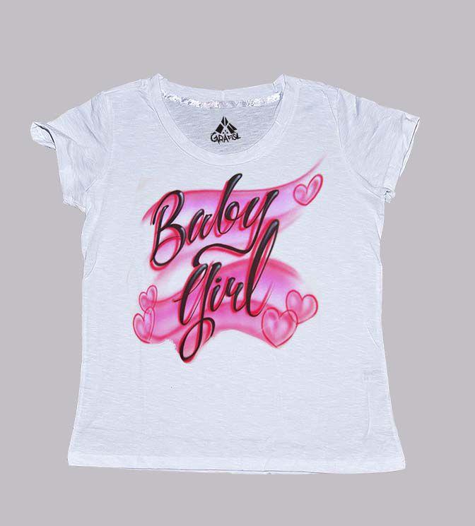 Camiseta estilosa baby girl