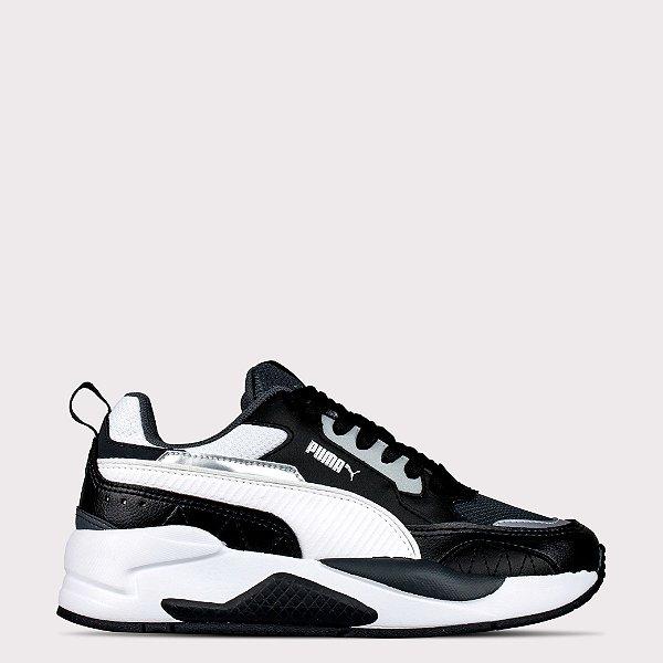 Tênis Puma X-Ray 2 Square BDP - Black Dark/Shadow White