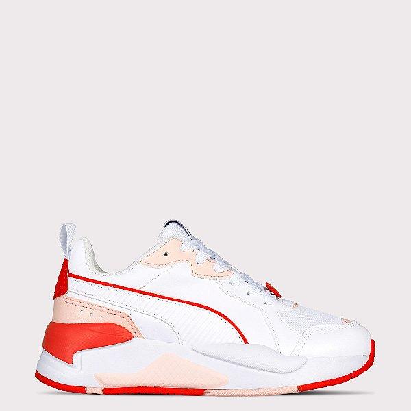Tênis Puma XRay Game Valentines BDP - White Poppy Red