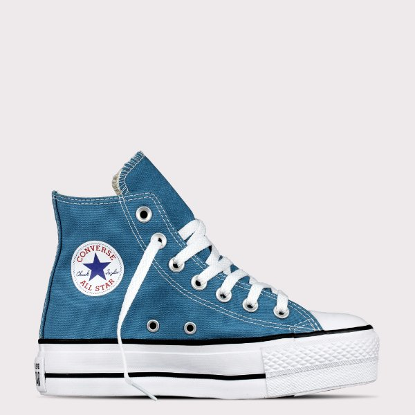 Tênis Converse All Star Chuck Taylor Hi Lift - Azul Escuro