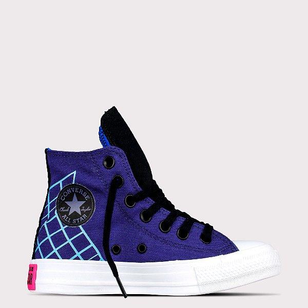 Tênis Converse All Star Chuck Taylor Hi - Berinjela/Preto