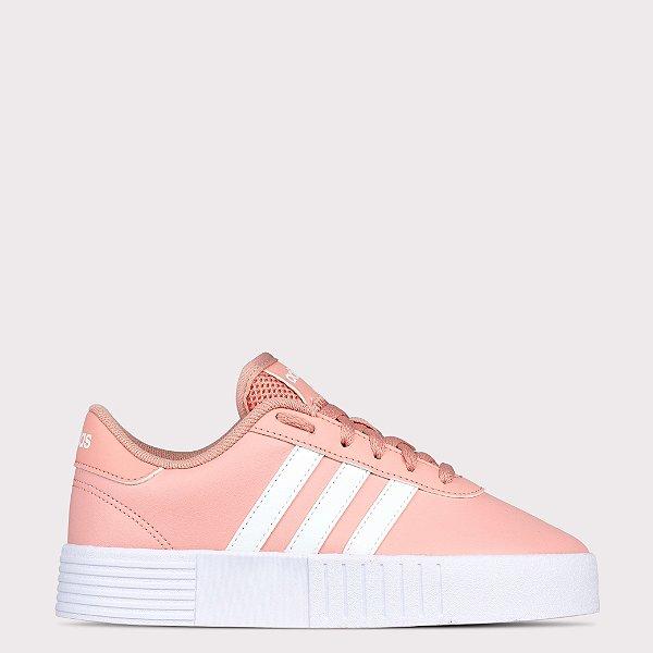 Tênis Adidas Court Bold - Rosa