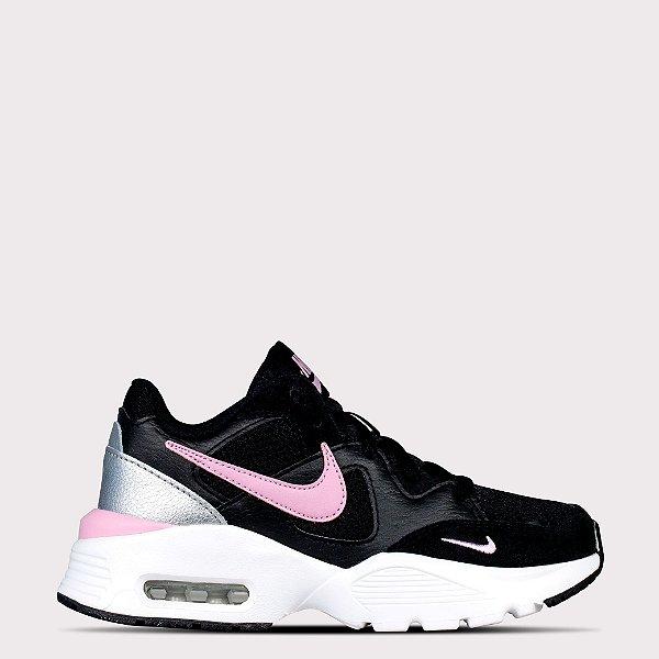 Tênis Nike WMNS Air Max Fusion - Preto/Rosa