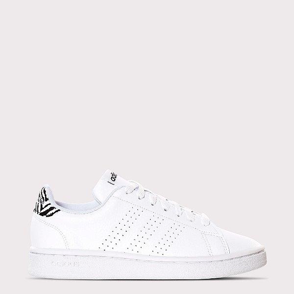 Tênis Adidas Advantage Zebra W - Branco