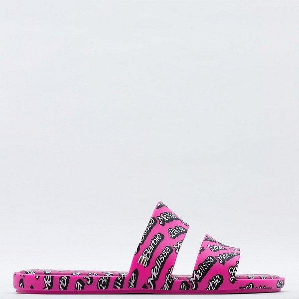 Chinelo Melissa Color Pop + - Rosa/Branco