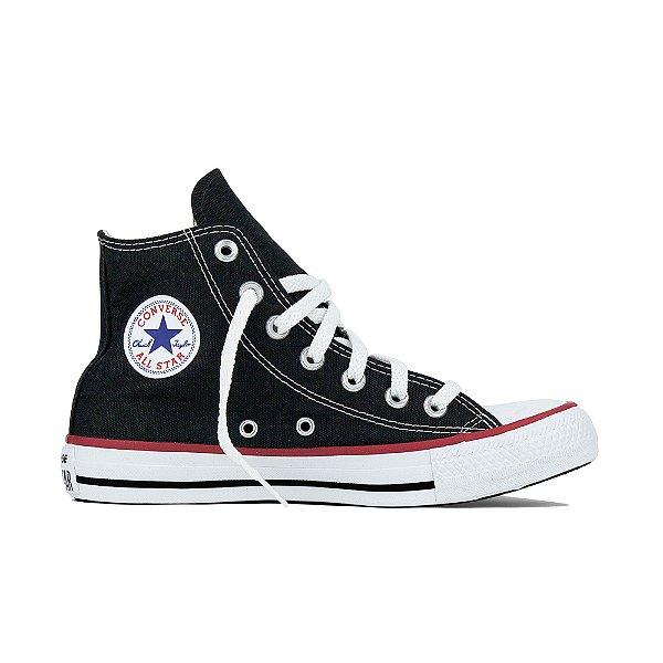 Tênis Converse All Star Cano Alto Chuck Taylor Preto - NYM STORE ... 7793d1b3e191b