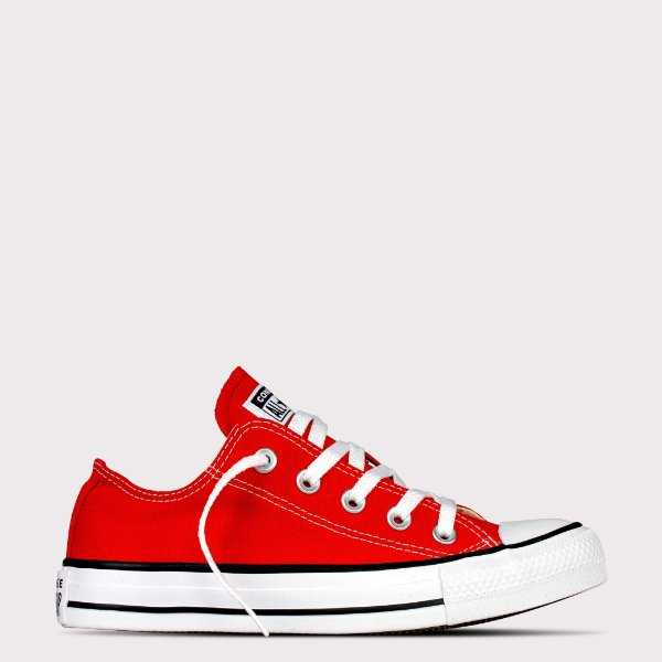 Tênis Converse All Star Chuck Taylor Ox - Vermelho