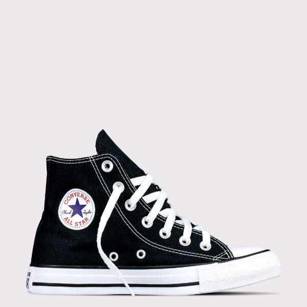 Tênis Converse All Star Chuck Taylor Hi - Preto Cru