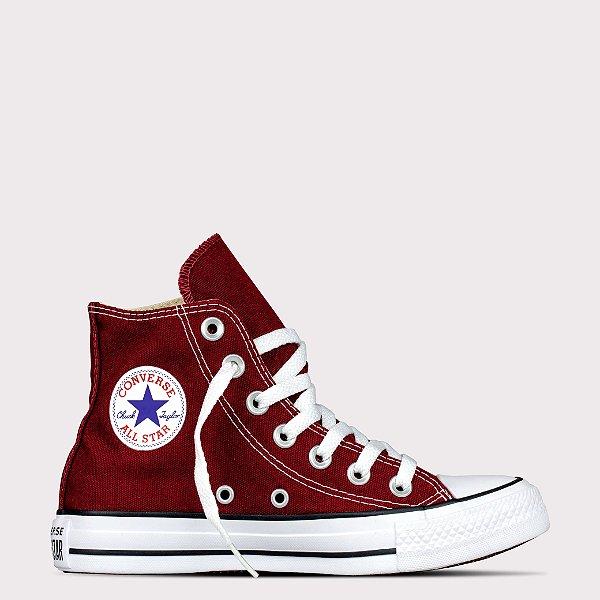 Tênis Converse All Star Chuck Taylor Hi - Bordo