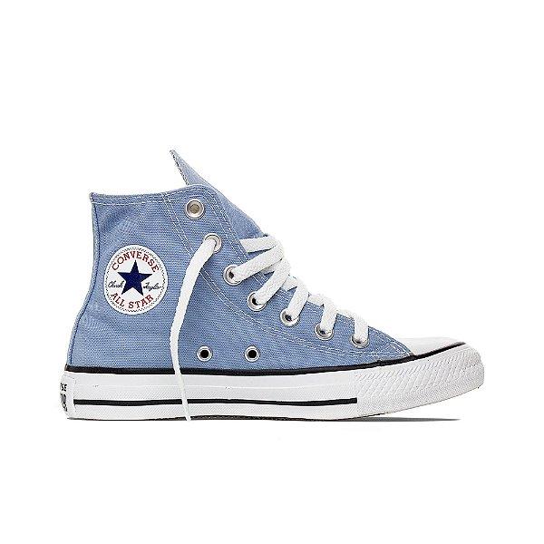 Tênis Converse All Star Cano Alto Chuck Taylor - Azul Aço