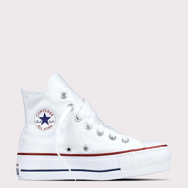 Tênis Converse All Star Chuck Taylor Lift Hi - Branco