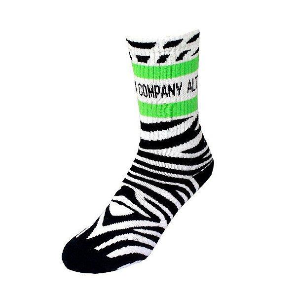 Meia Altai Zebra Unissex