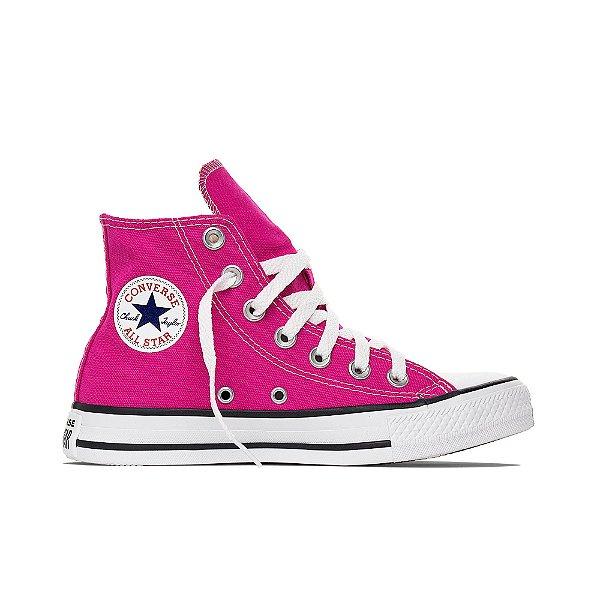 Tênis Converse All Star Chuck Taylor Cano Alto Hi - Pink Fluor
