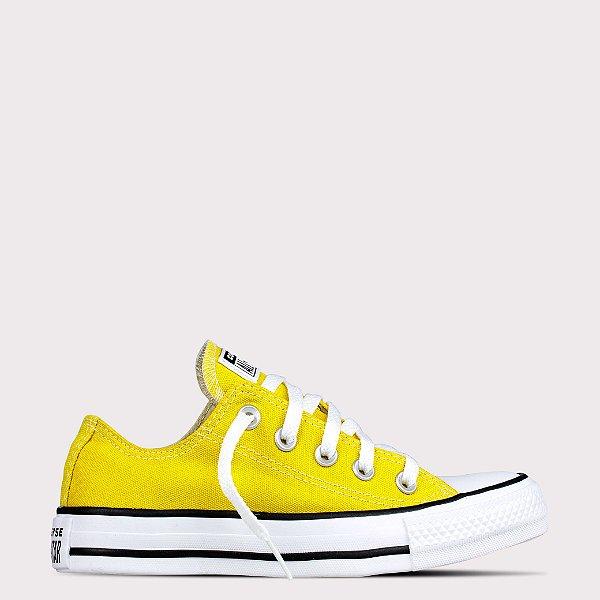 Tênis Converse All Star Chuck Taylor Ox - Amarelo Vivo