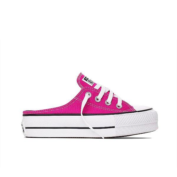 Tênis Converse All Star Chuck Taylor Lift Mule - Pink Fluor