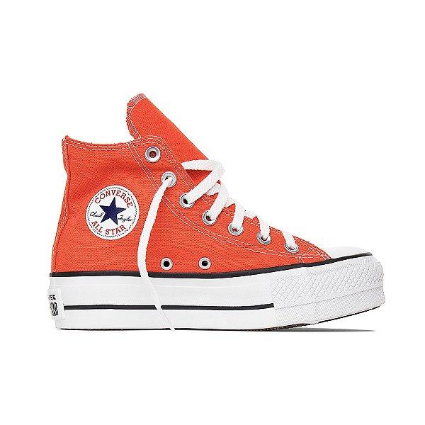 Tênis Converse All Star Chuck Taylor Lift Hi - Fogo