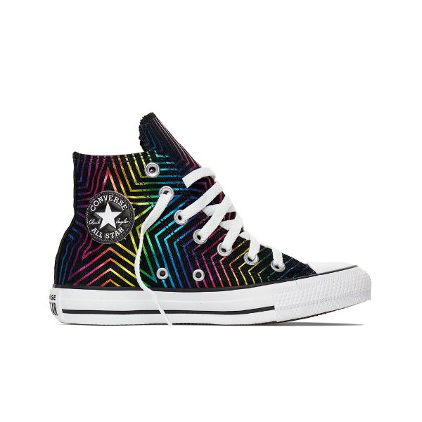 Tênis Converse All Star Cano Alto Chuck Taylor Estrela Colors Hi - Preto