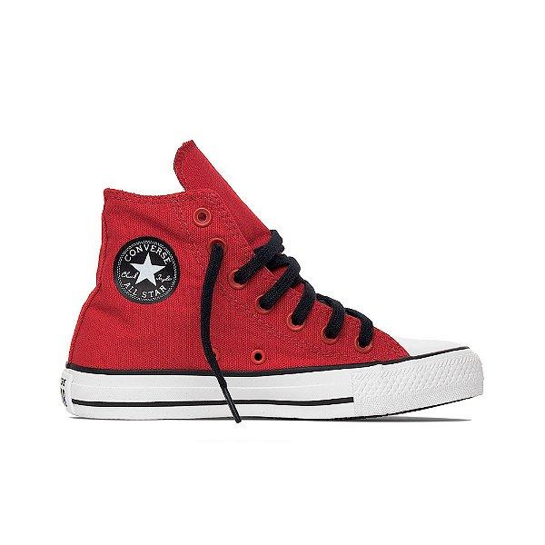 Tênis Converse All Star Cano Alto Chuck Taylor Not Alone Hi - Vermelho