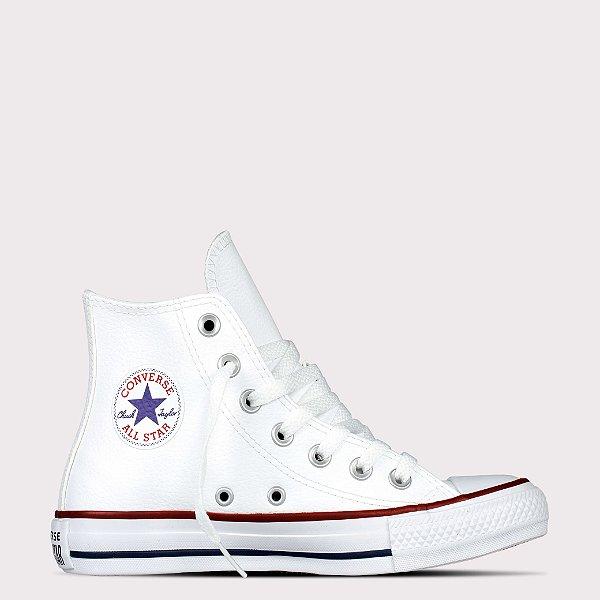 Tênis Converse All Star Chuck Taylor Sintético Hi - Branco