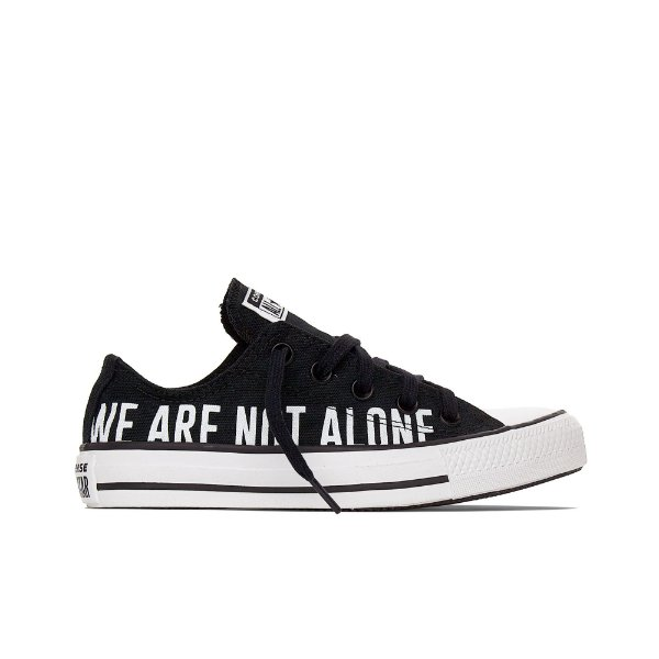 Tênis Converse All Star Chuck Taylor Not Alone Ox - Preto