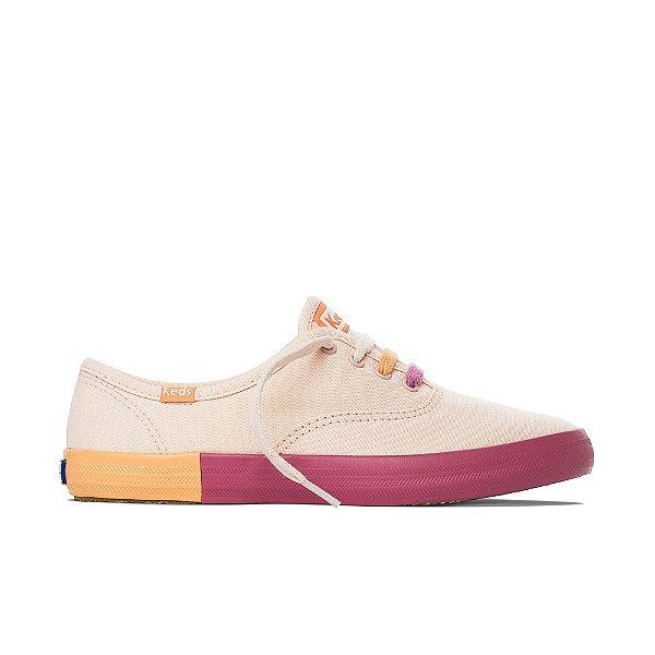 Tênis Keds Champion Colorblk FX Feminino - Peach
