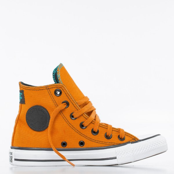Tênis Converse All Star Chuck Taylor Hi - Ferrugem/Preto