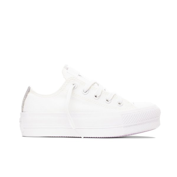 Tênis Converse All Star Chuck Taylor Lift - Branco/Iridescente