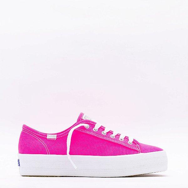 Tênis Keds Triple Kick Neon - Pink