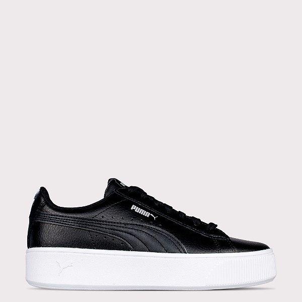 Tênis Puma Vikki Stacked L - Black