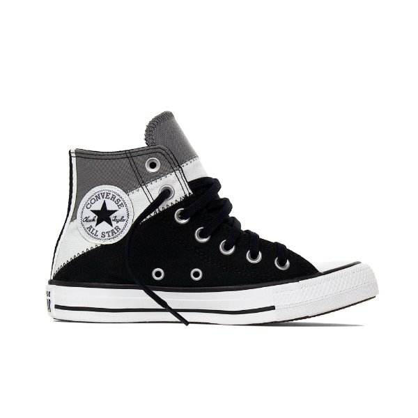 Tênis Converse All Star Chuck Taylor Hi Tri-Slipt - Alumínio/ Cinza
