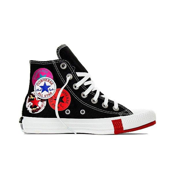 Tênis Converse All Star Chuck Taylor Hi  - Preto/Branco
