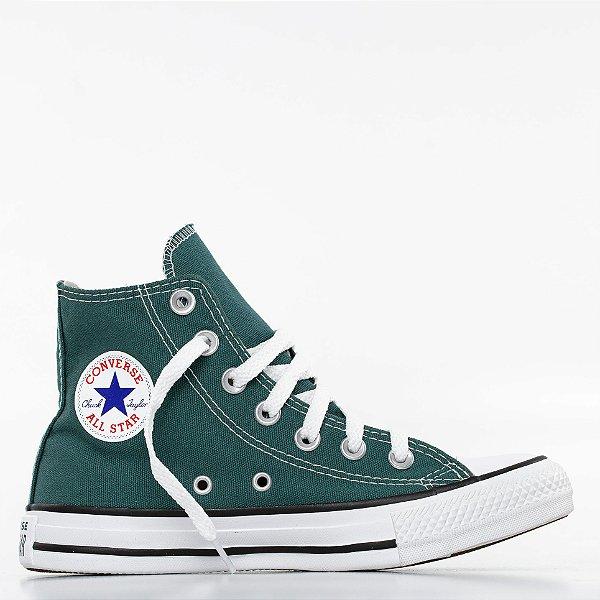 Tênis Converse All Star Chuck Taylor Hi - Verde Escuro