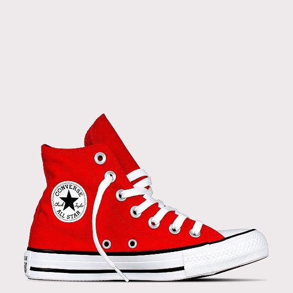 Tênis Converse All Star Chuck Taylor Pocket Hi - Vermelho