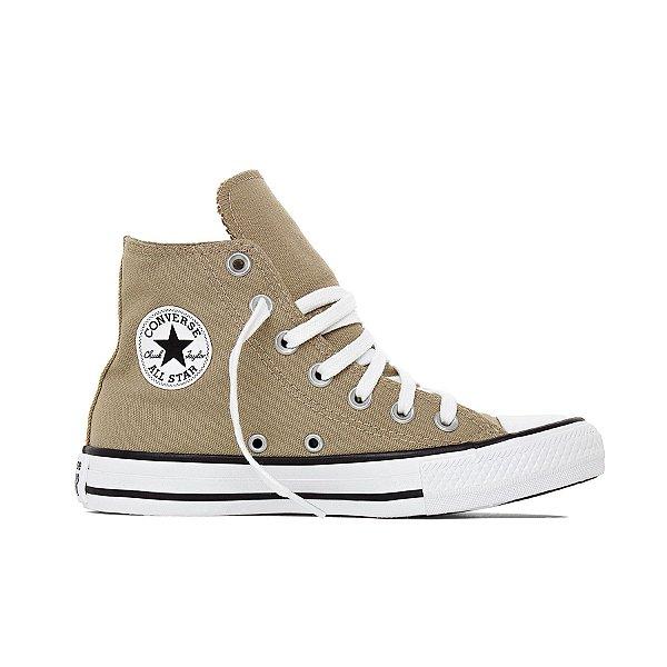 Tênis Converse All Star Chuck Taylor Hi Pocket - Caqui