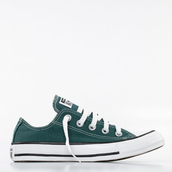 Tênis Converse All Star Chuck Taylor Ox - Verde Escuro