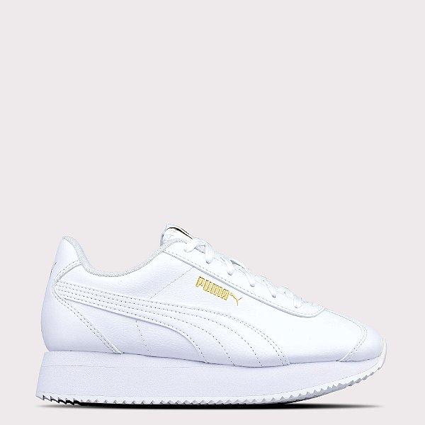 Tênis Puma Turino Stacked - White