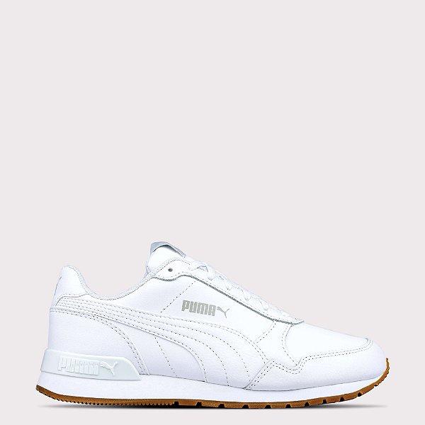 Tênis Puma ST Runner V2 FULL Leather - White
