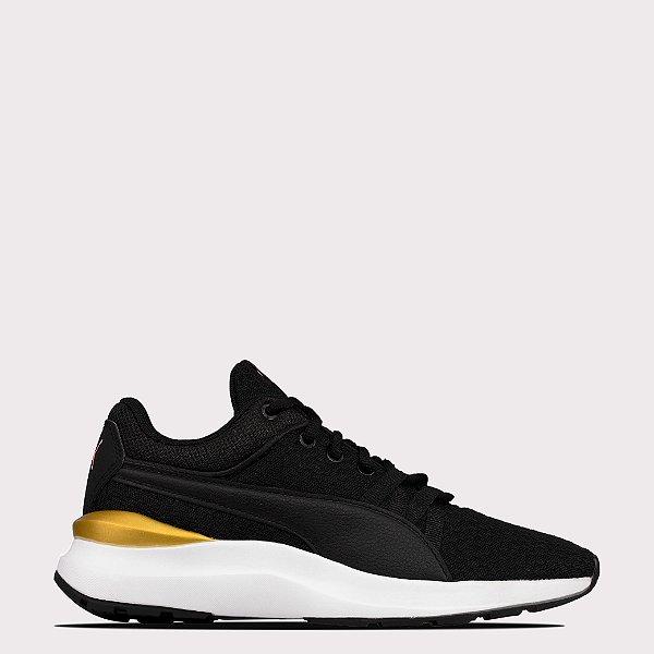 Tênis Puma Adela Core - Black/Gold