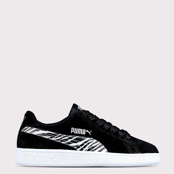 Tênis Puma Smash BDP - Black/White