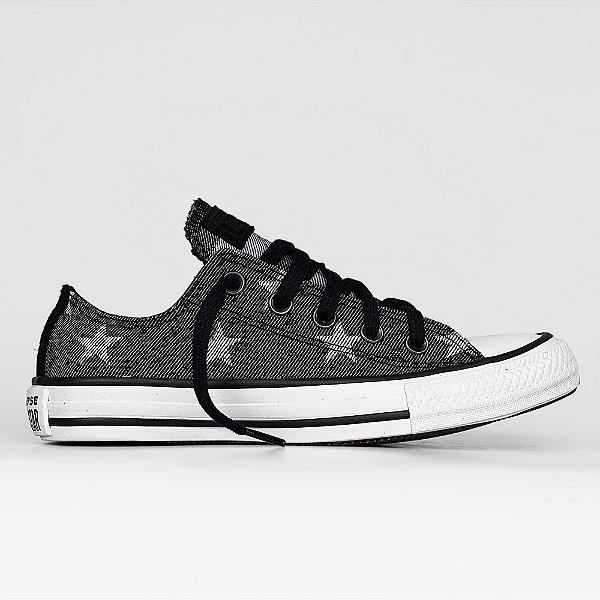 Tênis Converse All Star Chuck Taylor Estrela Ox - Preto