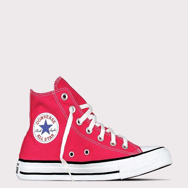 Tênis Converse All Star Chuck Taylor Hi - Carmim